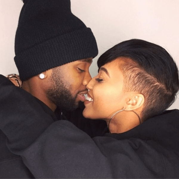 Black Couples Kissing Pictures