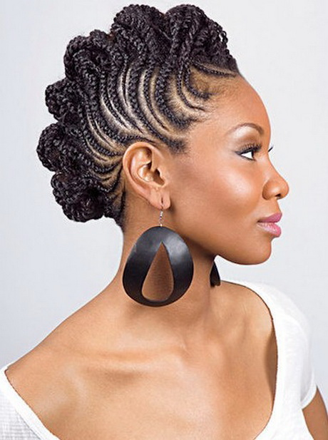 Black Girl With Mohawk Images