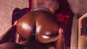 Black Oiled Up Ass
