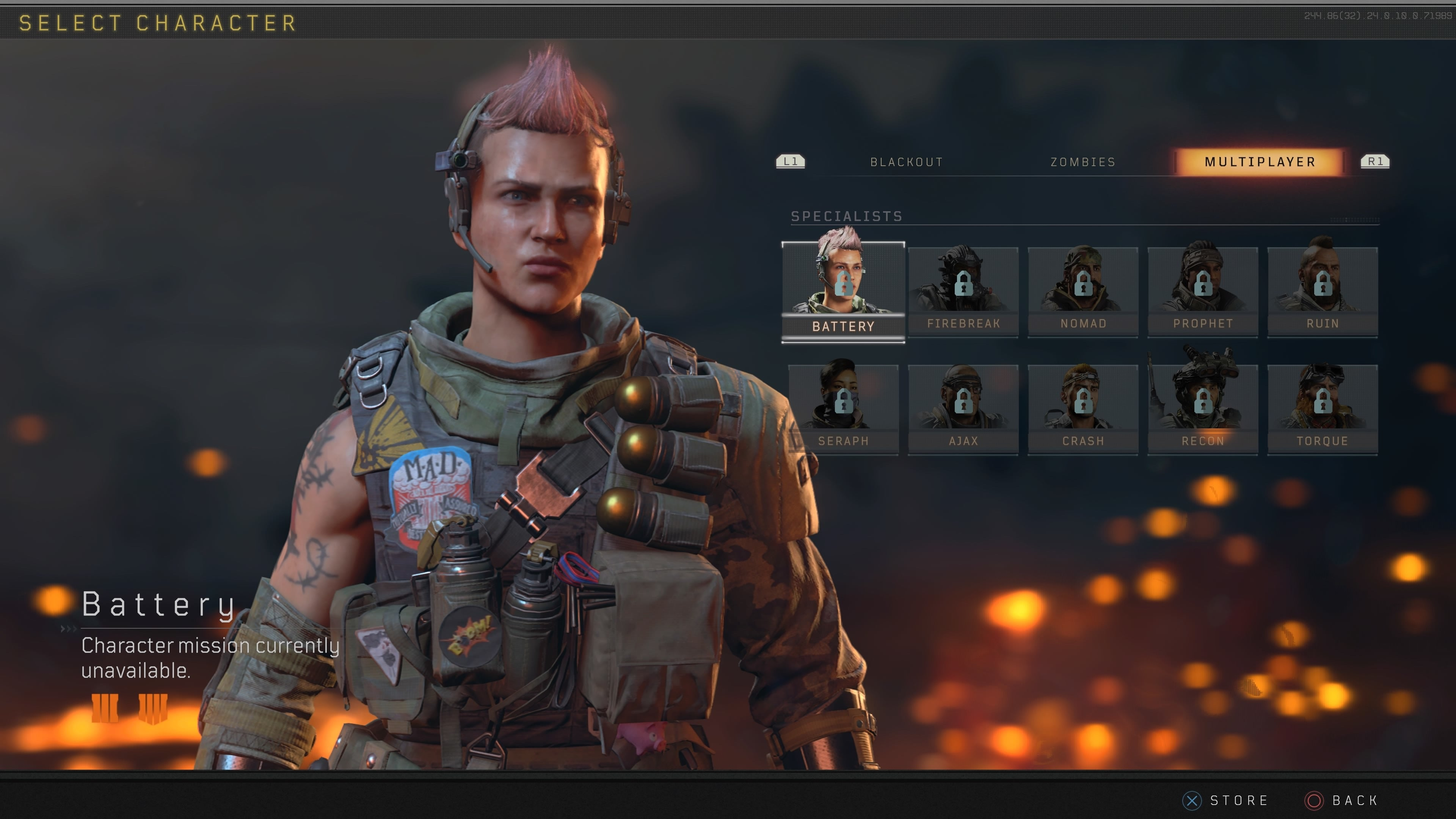 Cod Black Ops Characters