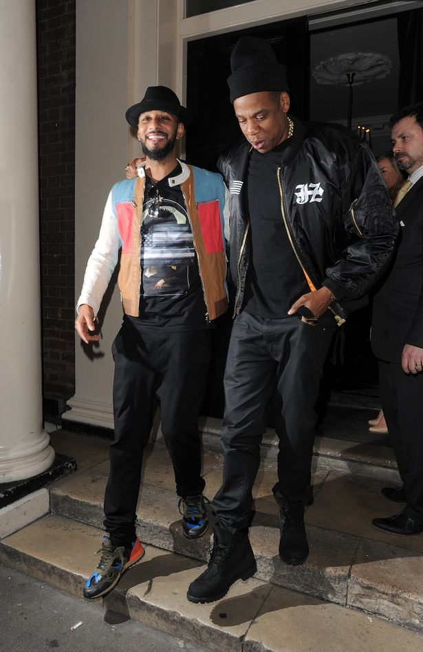 Jay Z Black Timberland Boots Pictures